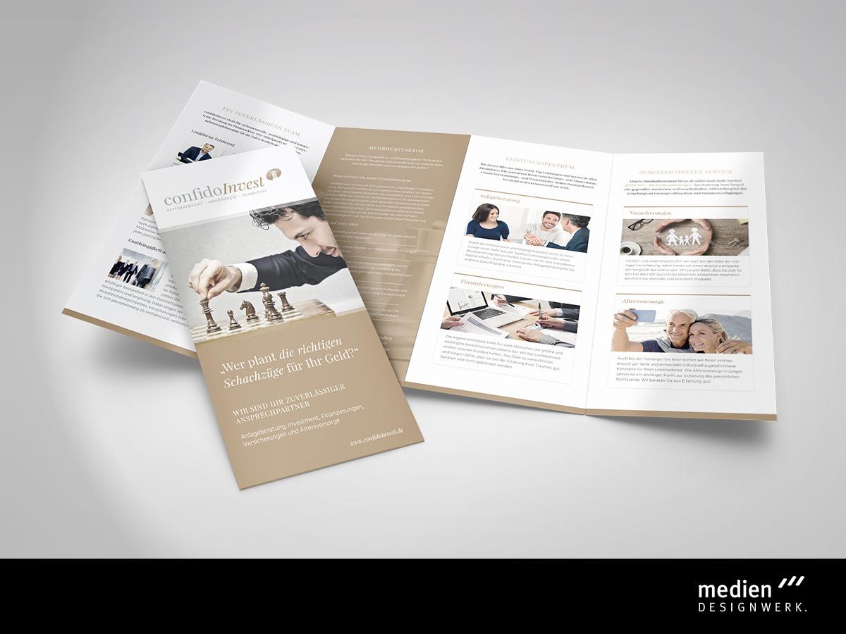 Flyer Design - Werbeagentur Fichtelgebirge / Oberfranken