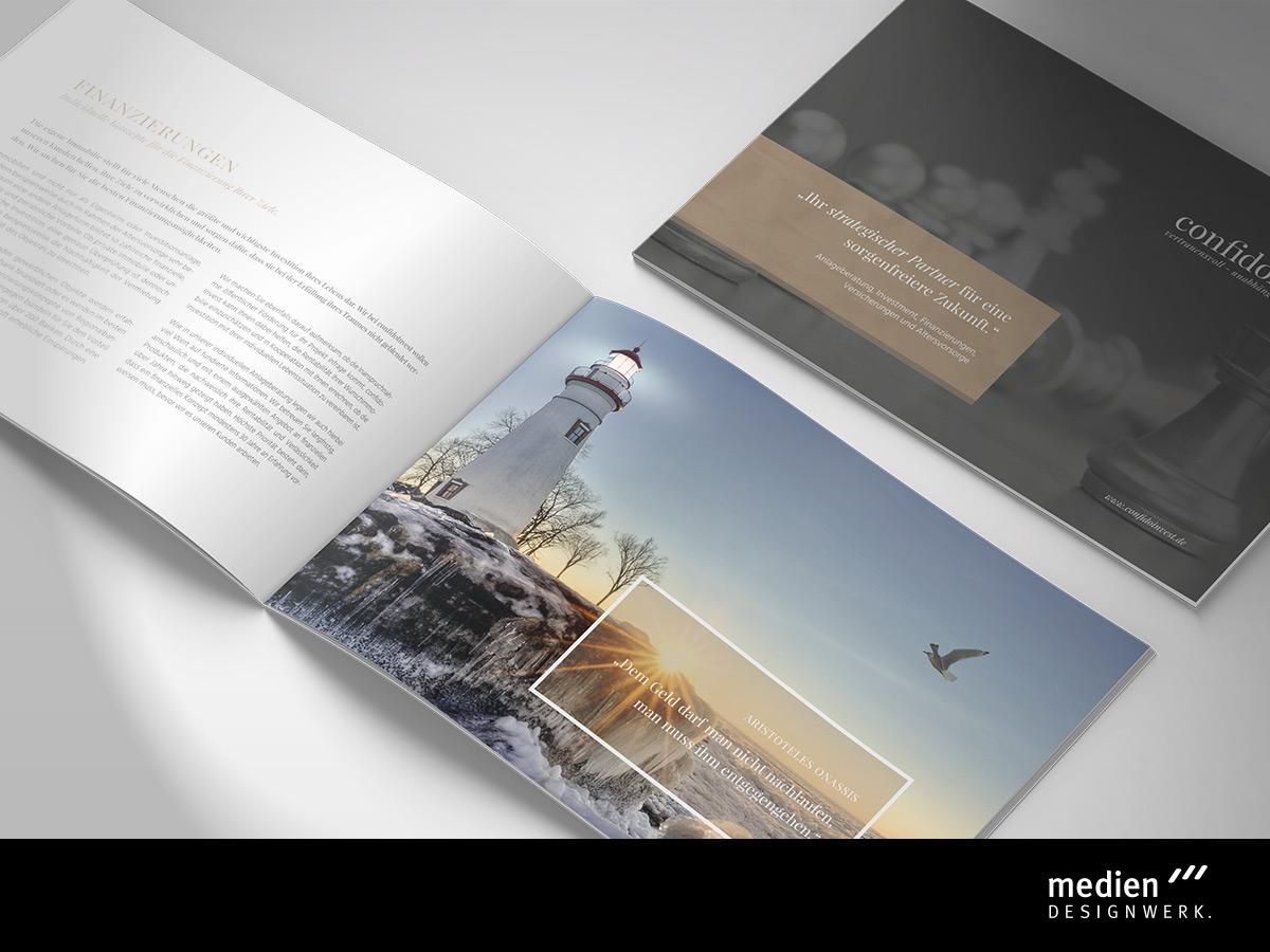 Broschüren Design - Werbeagentur Fichtelgebirge / Oberfranken
