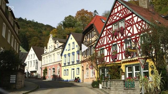 Die Altstadt von Bad Berneck