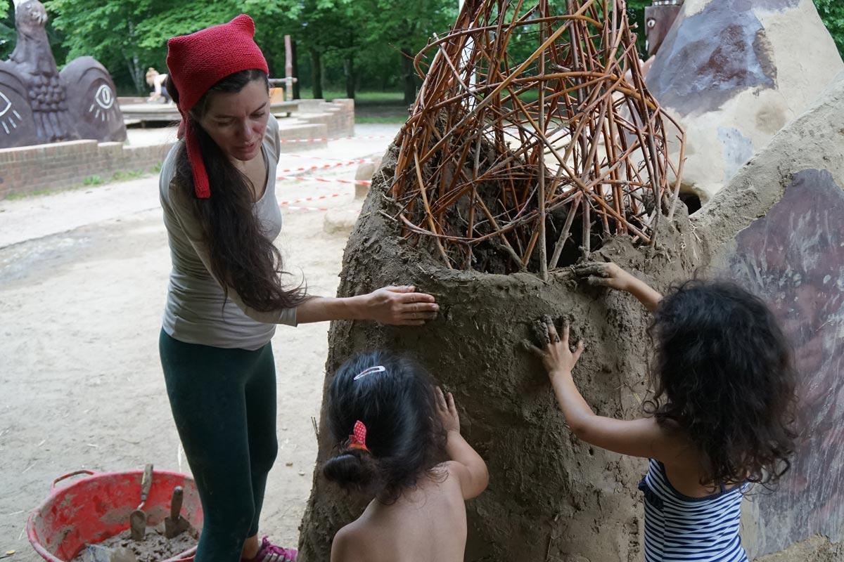 Makunaima Bauen Und Spielen Im Britzer Garten In Berlin Kuko